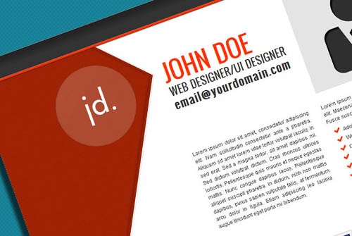 JD Portfolio Template - One Page Portfolio Website Template