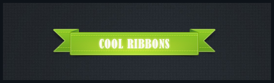 13 Free Perfect PSD Ribbons