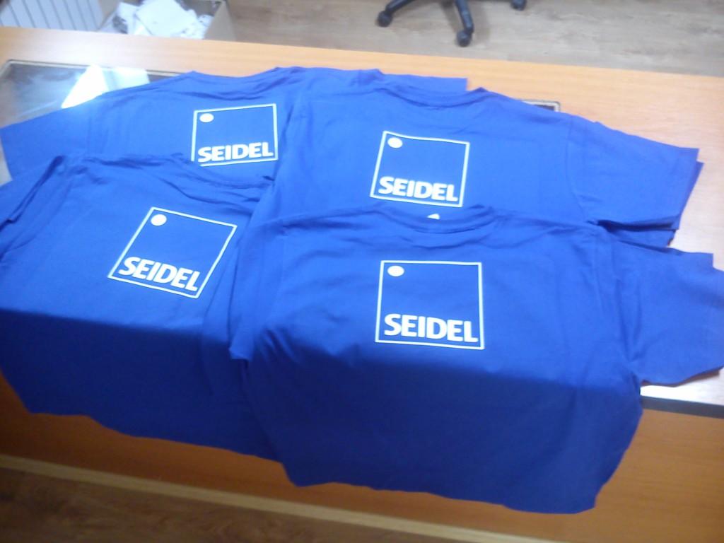SEIDEL potlač tričiek
