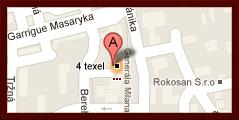 Pozícia 4texel na mape